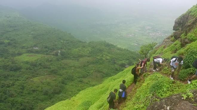 Pháo đài cổ trên cao nguyên lộng gió ở Ấn Độ
