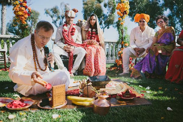 Nghi lễ độc đáo trong đám cưới của người Ấn Độ