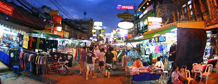 Khám phá khu phố Khao San, Bangkok