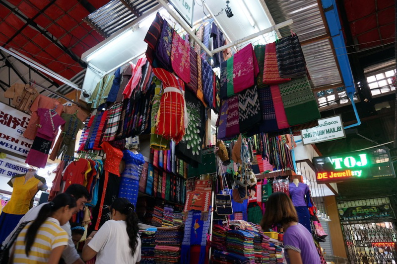 Mua sắm thỏa thích ở Myanmar