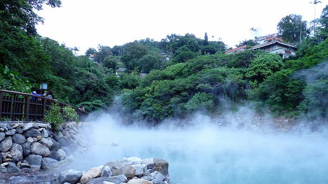 Thư giãn với suối nước nóng ở Đài Loan