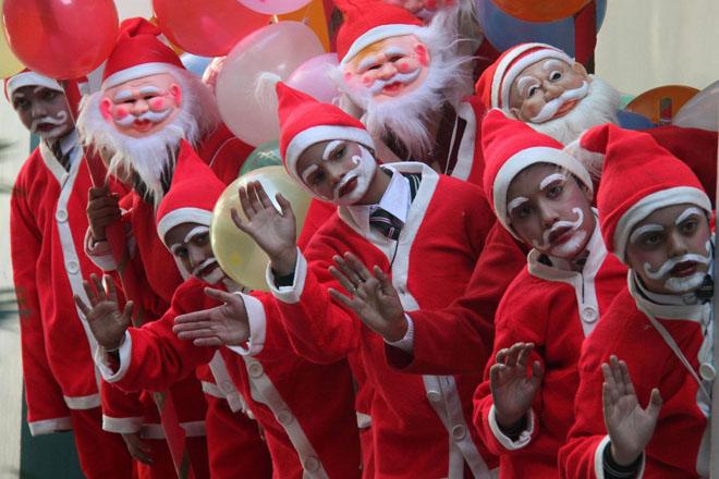 Phong tục Giáng sinh của Ấn Độ