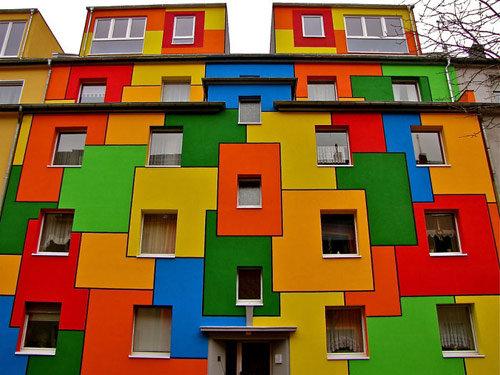 18 ngôi nhà sặc sỡ nhất Thế giới