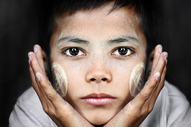Phương pháp làm đẹp của người Myanmar