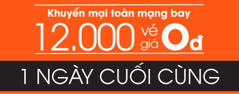 12000 vé 0 đồng trong ngày cuối tuần lễ mua sắm trực tuyến