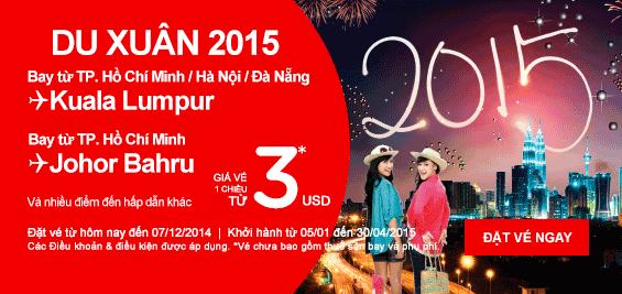 Du xuân 2015 cùng Air Asia