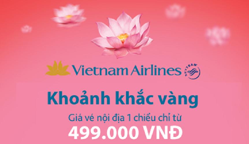 Tận hưởng khoảnh khắc vàng cùng Vietnam Airlines