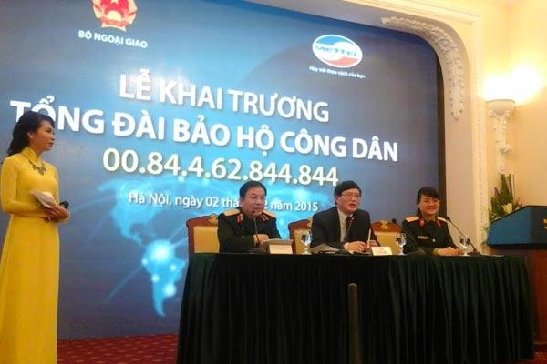 Đường dây nóng cho công dân Việt tại nước ngoài