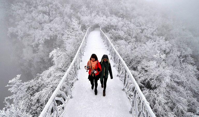 Thiên Môn Sơn – Thiên đường mùa đông đẹp nhất Trung Quốc
