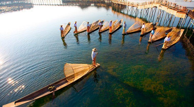 Ngất ngây với Inle – Hồ nước đẹp nhất Myanmar