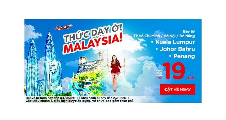 Hè cực vui – Đến Malaysia với vé Air Asia chỉ từ 19 USD