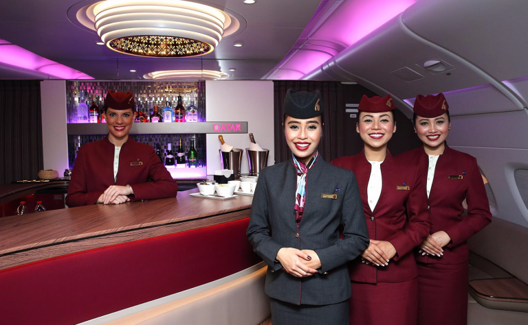 Trải nghiệm hạng Business đẳng cấp cho 2 người – Giảm ngay 35% khi bay cùng Qatar