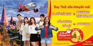 KM vé 0 đồng của Vietjet Air