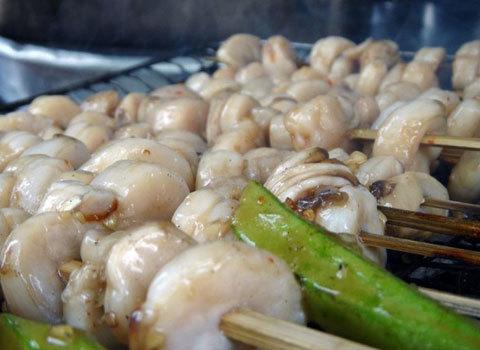 Hương vị hấp dẫn món còi biên mai nướng ở Phú Quốc