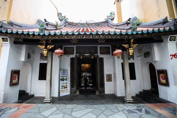 Một nơi lưu trú hiếm có trong lòng Singapore nhộn nhịp