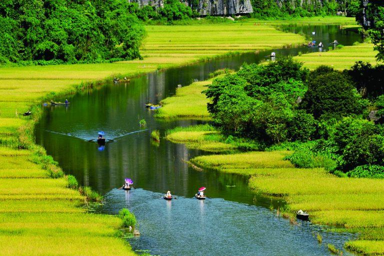 Đi du lịch Ninh Bình khó có thể bỏ qua những địa điểm sống ảo này