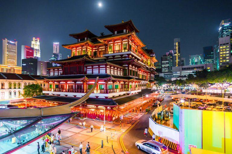 Ngôi chùa nổi tiếng ở Singapore với kinh phí xây dựng lên đến 46 triệu USD