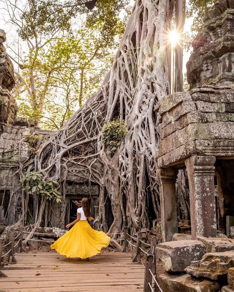 Độc đáo ngôi đền hơn 8000 tuổi hút khách tại Campuchia