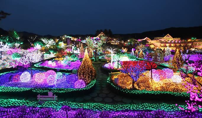 Các lễ hội ánh sáng mùa đông hút khách check in tại xứ sở kim chi
